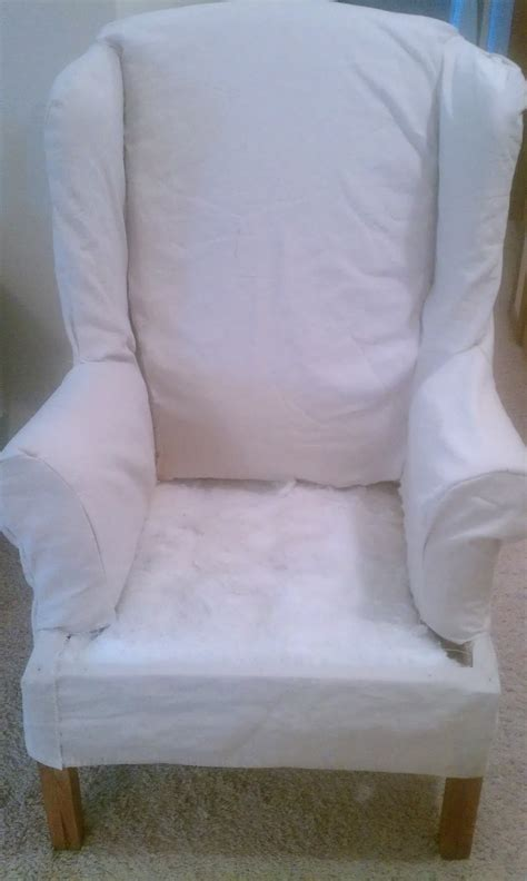 white wingback chairs wingback chair and ottoman slipcovers chair covers