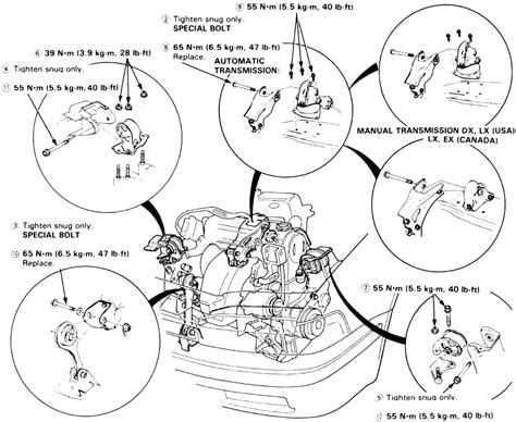 95 Honda Accord V6 Engine Diagram by Got A 92 Accord Ex What Is Best Way To Change The Rear