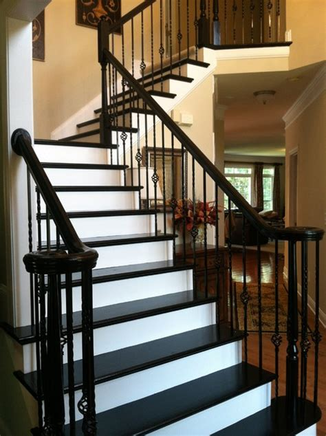 creative idea painted stair treds  fox brothers