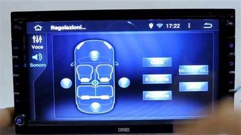 autoradio 2din android 4 4 con navigatore wifi dvd microsd e bluetooth youtube