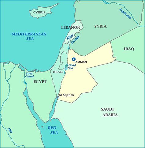 jordan map toursmapscom