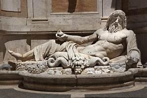 Ancient Neptune Statue Capitoline Museum Rome Stock Photo ...