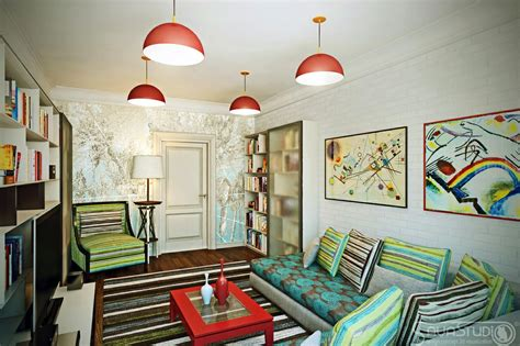 Vibrant Interiors By Sava Studio  Futura Home Decorating