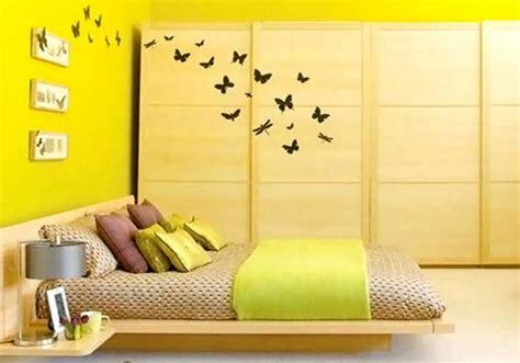 desain kamar tidur bernuansa kuning desain rumah