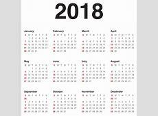 Kalendorius 2018 2018 Calendar printable for Free