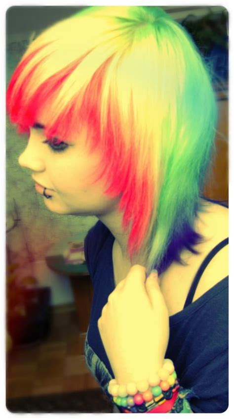 17 Best Ideas About Emo Hair Color On Pinterest Bright