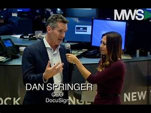DocuSign CEO Explores Valuation and Digital Balance - YouTube