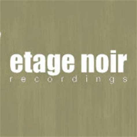 Etage Noir Recordings On Vimeo
