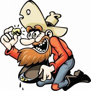 Cartoon Gold Miner Vector Art 452112085   Getty Images