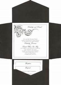 1000 images about wedding invitations on pinterest With black and white tri fold wedding invitations