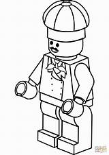 Lego Coloring Chef Pages Printable Hat Coloringpagesonly Police Colouring Batman Construction Drawing Printables Ninjago Worker Dinosaur Fire Getcolorings Sheets Officer sketch template