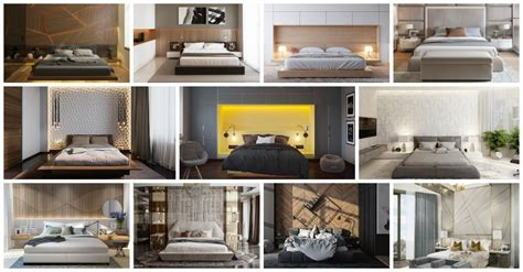 20+ Bedrooms With Unique Wall Details