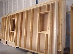 Mur Interieur En Bois De Coffrage : epaisseur mur maison ossature bois boismaison ~ Premium-room.com Idées de Décoration