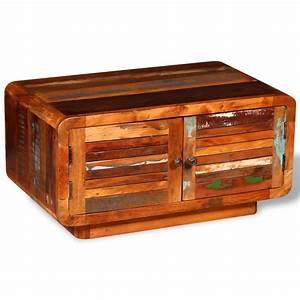 Couchtisch Recyceltes Holz : vidaxl couchtisch recyceltes holz 80 x 50 x 40 cm im vidaxl trendshop ~ Whattoseeinmadrid.com Haus und Dekorationen