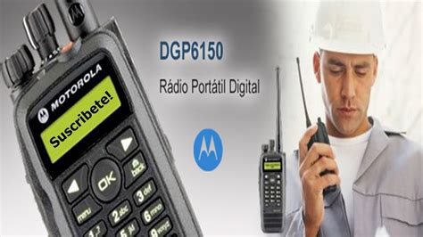 como programar radios motorola mototrbo digitales dgp 6150 bien explicado full hd parte
