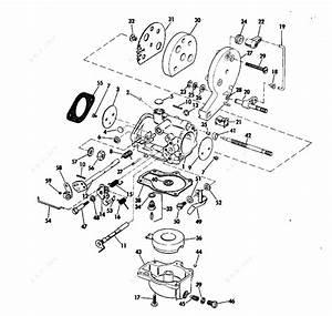 Evinrude 1973 18 - 18305a  Carburetor
