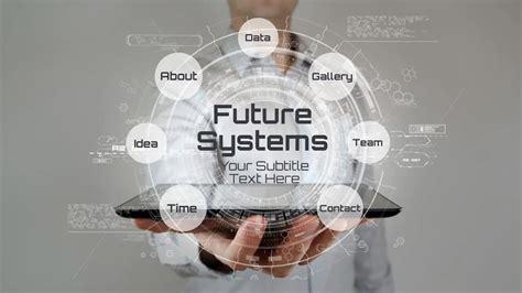 future technology  template prezibase