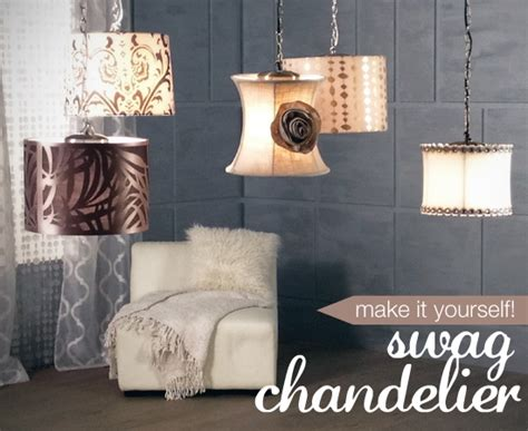 make your own lighting a diy chandelier project home