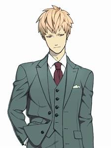 noiz in a suit | Tumblr