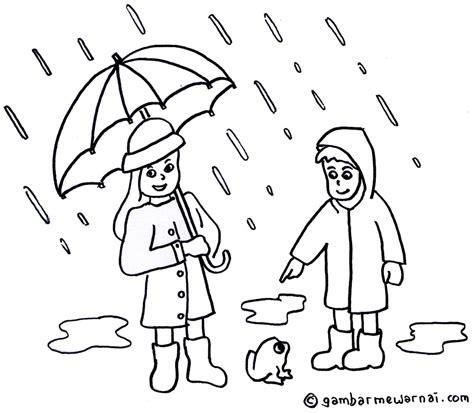 Daftar Harga Gambar Mewarnai Payung Hujan Contoh Anak Paud Termurah