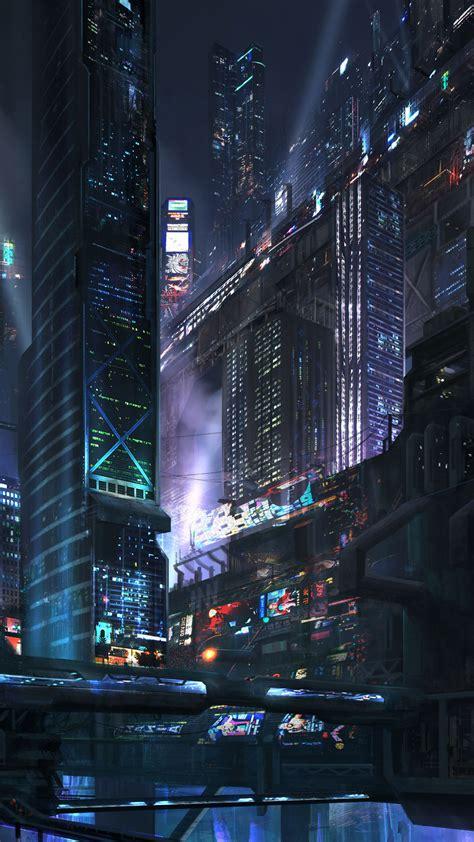 Night city wallpapers mobile has 2083 views. Night Wallpaper futuristic city at night fantasy mobile wallpaper 1080x1920 14008 213378058 ...