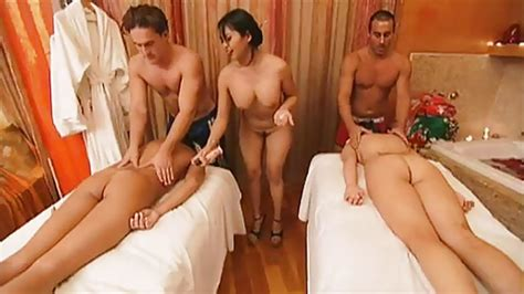 This Foursome Has A Wild Time At A Massage Parlor From