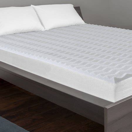 mattress topper walmart serenity 2 quot graphite wave mattress topper walmart