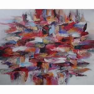 Tableau Contemporain Grand Format : tableau deco design grand format 150x120 cm darsana ~ Teatrodelosmanantiales.com Idées de Décoration