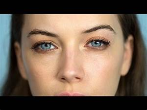 Natural makeup for blue eyes | Beauty Focus Eyes - YouTube