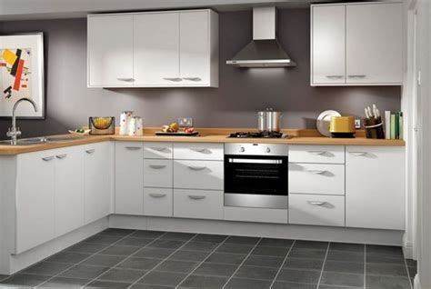 Dakota   White slab kitchen   Wickes.co.uk