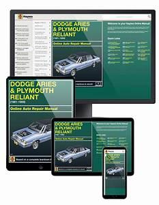 Dodge Aries  U0026 Plymouth Reliant  81