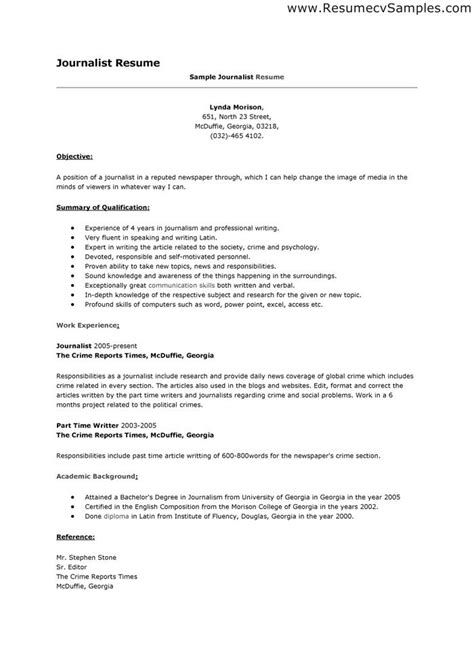 Reporter Description For Resume by 166 Best Resume Templates And Cv Reference Images On