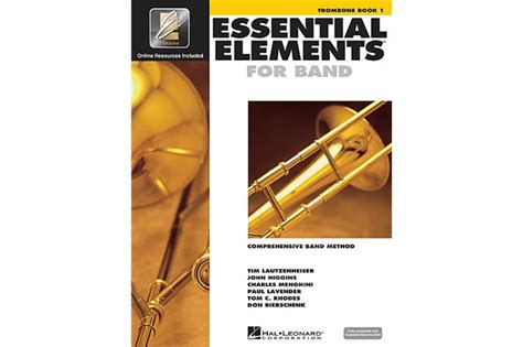 essential elements trombone lesson book  heid