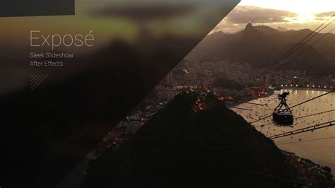 after effects slideshow expos 233 modern slideshow after effects template