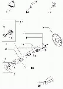 Delta Shower Valve Parts Diagram