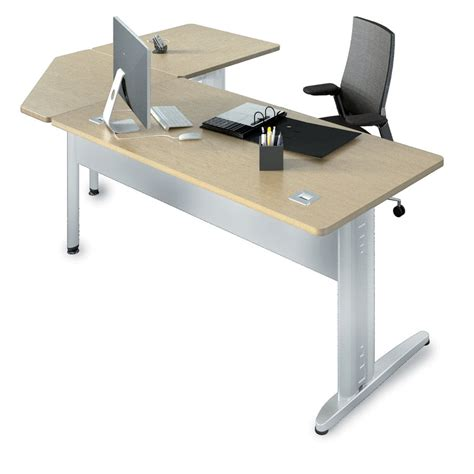 bureau angle droit bureau droit corial 160x80 angle 90 retour 80x80