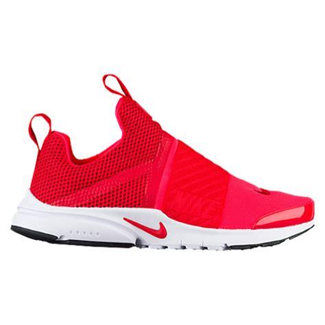 nike presto extreme boys 39 grade school running shoes
