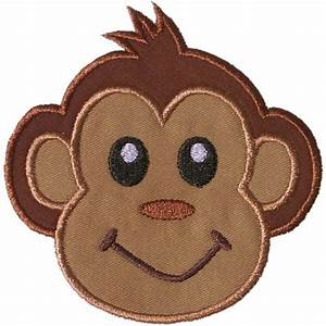 sock monkey face template - best photos of monkey applique pattern free monkey
