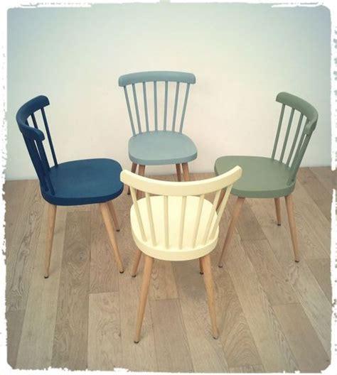 chaise e 50 chaises vintage baumann quot 740 quot pieds compas revisitées