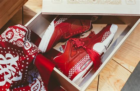Air Jordan 4 Chinese New Year Custom  Sneaker Bar Detroit
