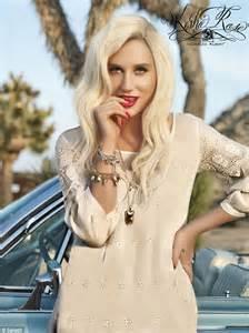 keha strikes  pose  ad   jewelry  modeling