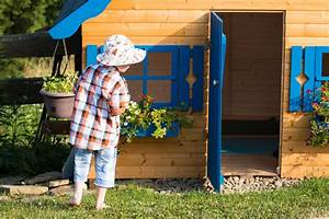 Klingel Für Spielhaus : ein spielhaus im garten so wird das gartenhaus zum ~ Michelbontemps.com Haus und Dekorationen