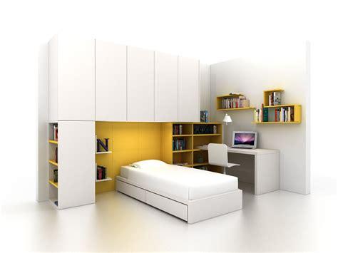 chambre lit pont chambre d ado composable avec pont de lit z406 by zalf