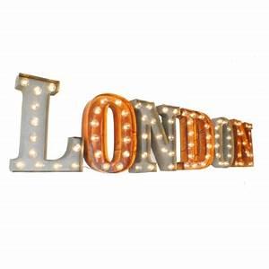 uk london illuminated carnival vintage letter lights With illuminated letter lights