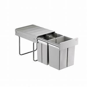 Mülleimer Küche Wesco : wesco bio trio maxi abfallsammler einbau m lleimer 40l 2x10 20l vollauszug ebay ~ A.2002-acura-tl-radio.info Haus und Dekorationen