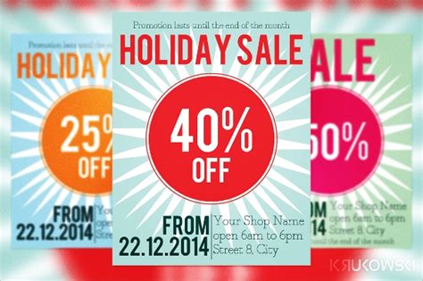 discount flyer templates  ms word psd ai
