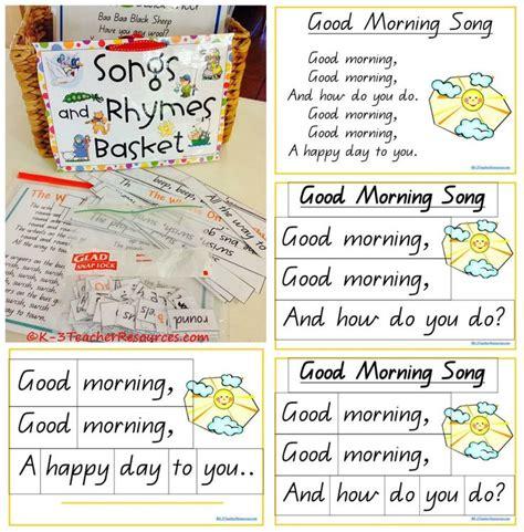 best 25 morning song ideas on preschool 245 | 412a833f0d6b4d3a446cc4209d52be10 good morning song nursery rhymes