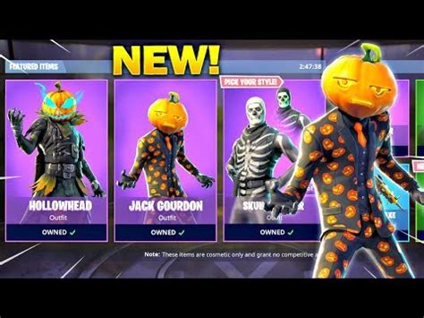 halloween skins  fortnite hollowhead jack