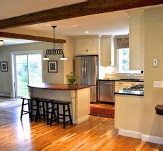 bi level kitchen island traditional kitchen peninsula raised ranch kitchen design 4619