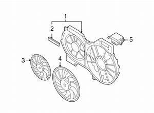 Audi A6 Engine Cooling Fan Motor  Liter  Right  Pkg